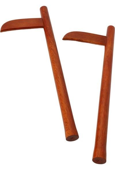 Aikido Kaması Kızıl Meşe Red Oak 46 cm C901