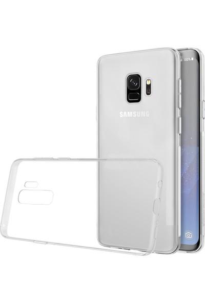 Case 4U Samsung Galaxy S9 Plus Kılıf Ultra İnce Silikon Şeffaf