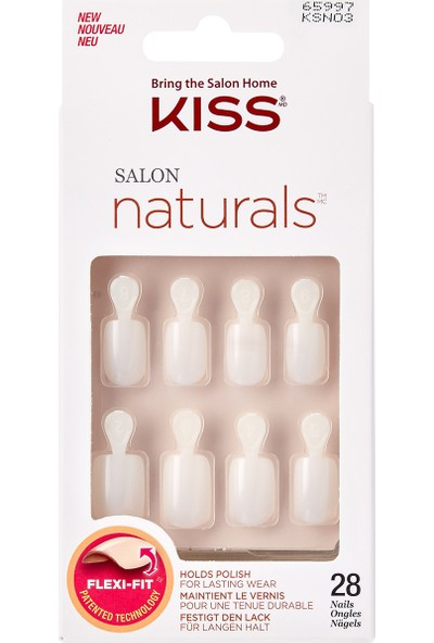 Kiss Natural Doğal Görünümlü Takma Tırnak