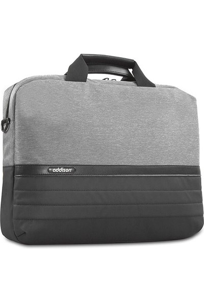"""Addison 301001 15.6"""" Gri/Siyah Bilgisayar Notebook Çantası"""