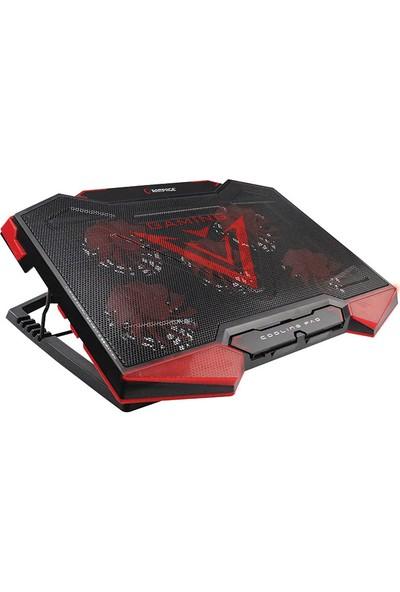 "Addison Rampage AD-RC5 Siyah 5 Fan ve 2 USB 15""-17"" Notebook Soğutucu Stand"