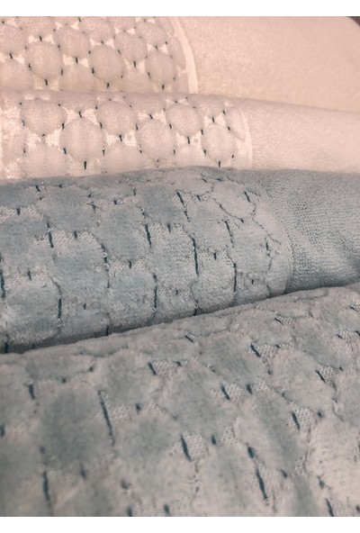 Özdilek Adria Best Set (Hamam Takımı) Krem/K.Mint-Mint