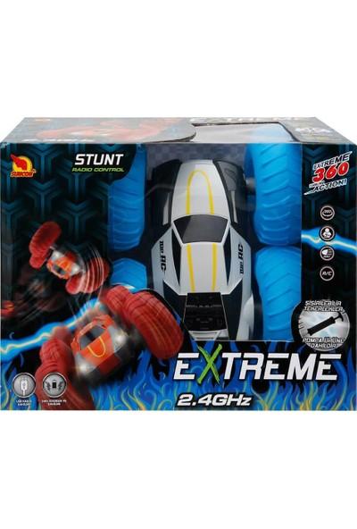 Suncon R/C Uzaktan Kumandalı Extreme Takla Atan Stunt Akrobat Şarjlı Araba - Mavi