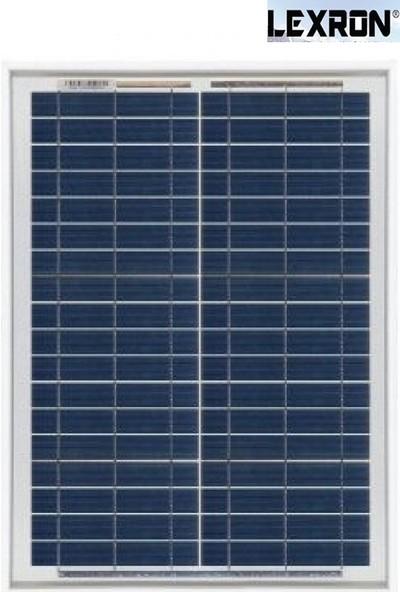 Lexron 20 Watt Polikristal Güneş Paneli