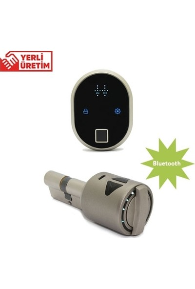 Desi Utopic R Ubf2C100 Bluetooth - Motorlu Elektronik Akıllı Kilit Sistemi (Kablosuz Parmak İzi Okuyucu V2 İle)
