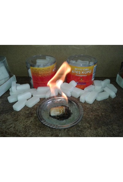 Nazar Ateş Küpü Tutuşturucu Çıra 30 Adet - Mangal Soba Tutuşturucu