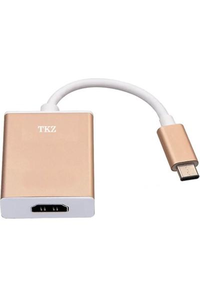 Tkz Tk-C55-G Type-C To Hdmi Kablo Adaptör