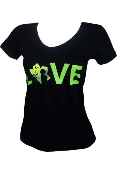 Guntack Love Kadın Tişört
