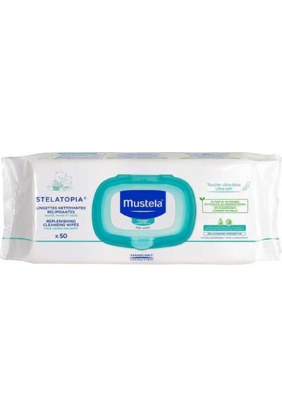 Mustela Stelatopia Replenishing Cleansing Wipes 50 Adet