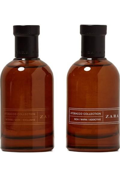 Zara Tobacco Intense Dark Exclusive EDT 100 ml + Rich Warm Addictive 100 ml Erkek Parfüm Seti