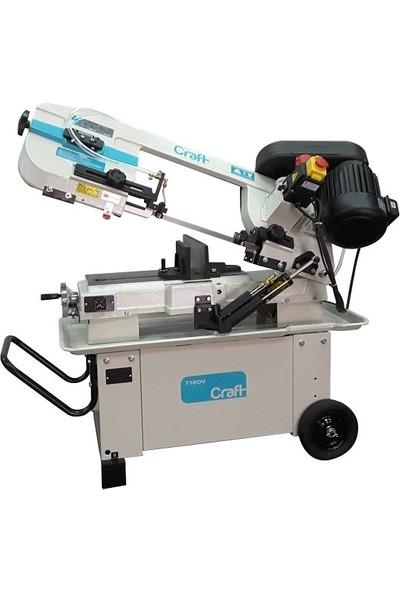 Craft T180V Metal Şerit Testere Tezgahı