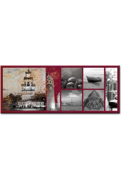 Arte Casero İstanbul Kanvas Tablo 40 x 100 cm