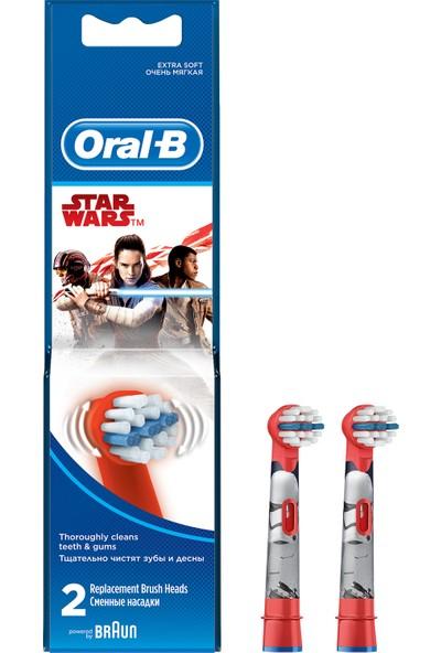 Oral-B Star Wars Çocuklar İçin 2'li Diş Fırçası Yedek Başlığı