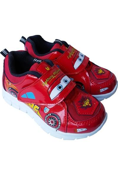 Disney Cars Erkek Çocuk Cars Arabalar Şimşek Mcqueen Spor Ayakkabı
