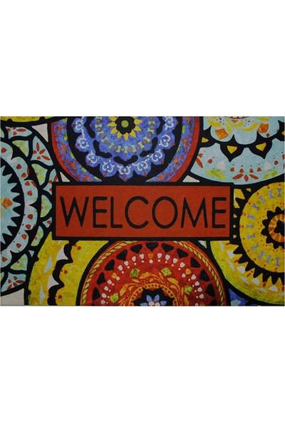 Yeni Nesil Kapı Önü Paspası 45X70 Welcome