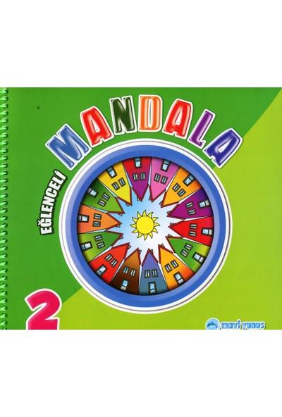 Mavi Yunus Yayınları Eğlenceli Mandala 2