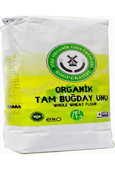Tire Organik Kooperatifi Organik Tam Buğday Unu 1 kg