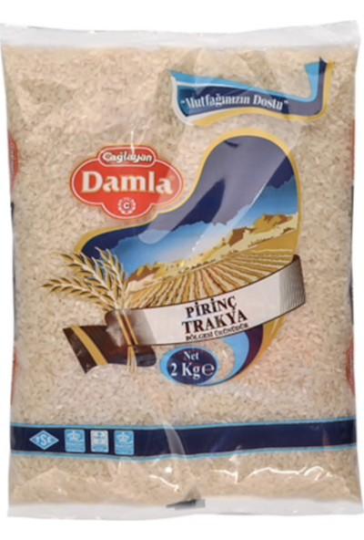 Damla Trakya Baldo Pirinç 2 kg