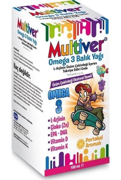 Multiver Omega3 Balık Yağı 150 ml