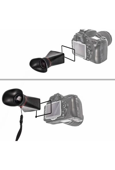 impulsfoto Mk-Vf100-D (16: 9) Ekran Büyüteçli Başlik