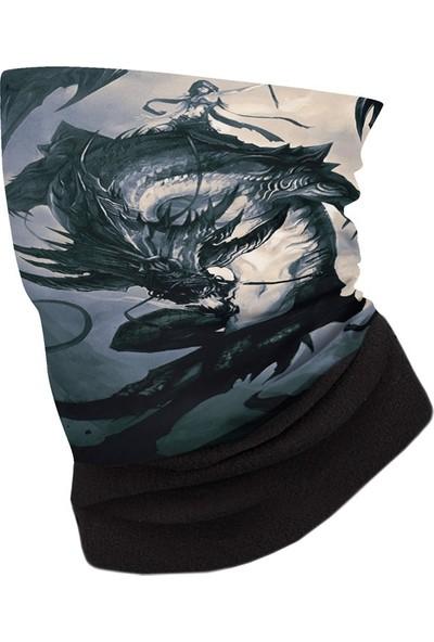 Dragon Black Polar Bandana