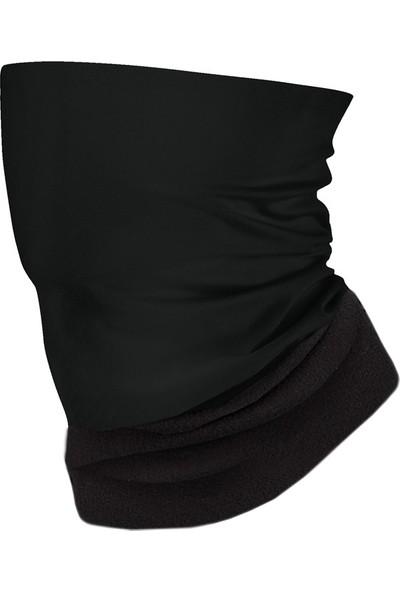 Solid Black Black Polar Bandana