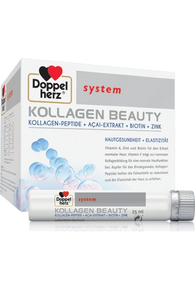 Doppelherz Kollagen Beauty 750 Ml 30 Flakon X 25 Ml