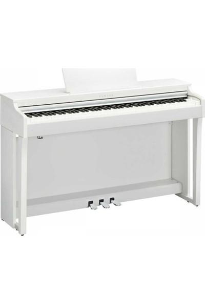 Yamaha Clavinova Clp625 Beyaz Dijital Piyano