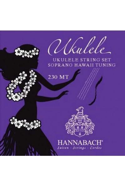 Hannabach 230Mt Soprano Ukulele Takım Tel Hawaii Tuning