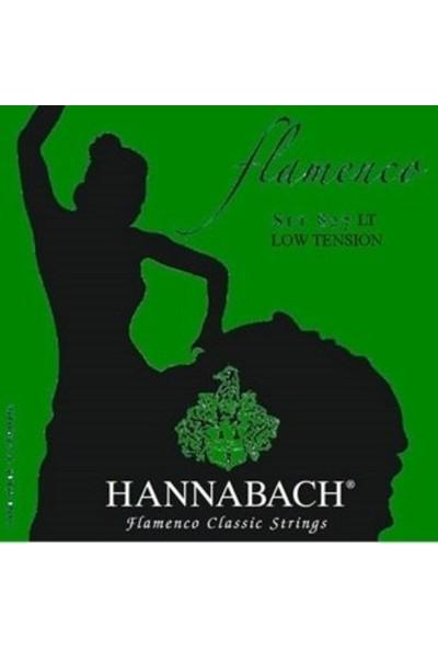 Hannabach 827 Lt Flamenko Gitar Teli Alt 3Lü Set