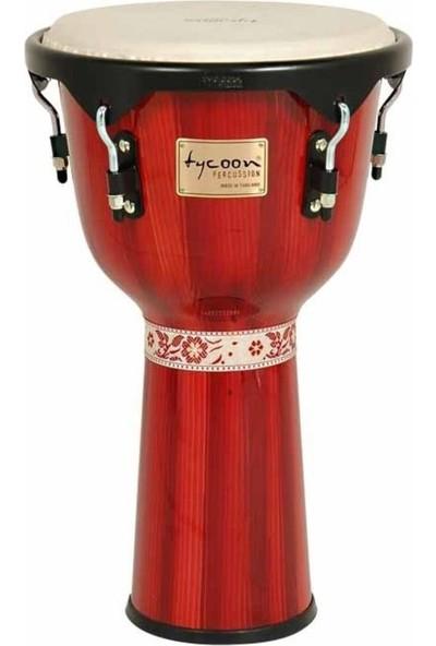 Tycoon Djmebe Tj-72-B-Hp-R Artist Series Hand-Painted 12' Red