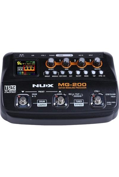 NUX MG-200 Gitar Efekt Prosesörü