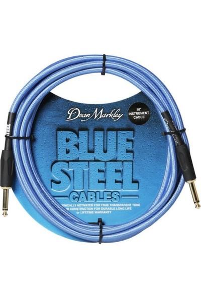 Dean Markley Blue Woven 3M Enstrüman Kablosu Düz Uçlu