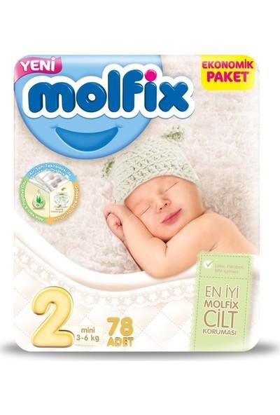 Molfix Bebek Bezi 2 Beden Mini Jumbo Paket Fırsat 156 Adet