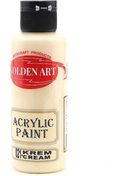 Golden Art Akrilik Boya 130 Cc Krem 021