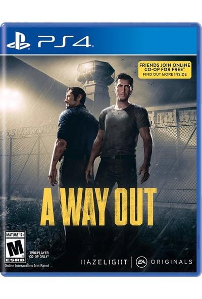 A Way Out - PS4 Oyunu
