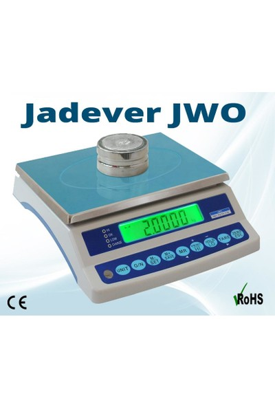 Jwo Tartım Terazisi 3 Kg - 0,1 Gr