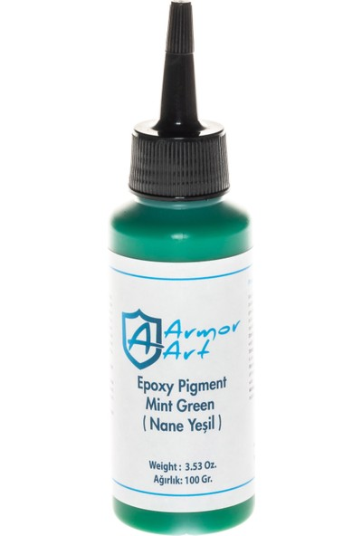 Armor Art Epoksi Pigment - Nane Yeşil 100 Gr