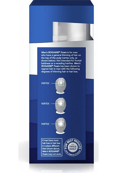 Rogaine Köpük Men Hair Regrowth Treatment Foam 3'lü 180 ml Set