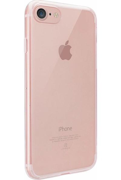 Ozaki O!coat Crystal+ Apple iPhone 7-8 Silikon Kılıf Pembe