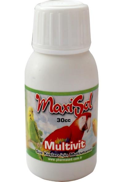 Maxisol Multivit Kuşlar İçin Multi Vitamin