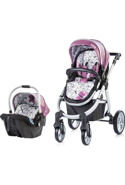 Chipolino Nina 2 In 1 Travel Sistem Bebek Arabası Purple