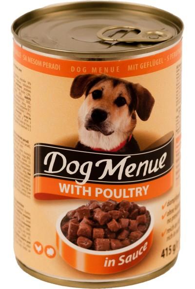 Dog menue Kümes Hayvanlı Köpek Konservesi 415 Gr (20 Adet)