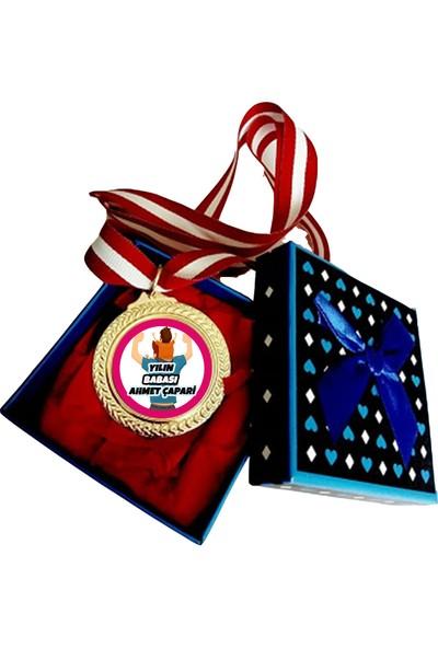 Hediye Panayırı Kişiye Özel Yılın Babası Madalyası İsimli - Babaya Özel Madalya