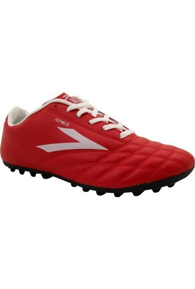 Lig Kembos Halı Saha Ayakkabısı Kırmızı - Beyaz