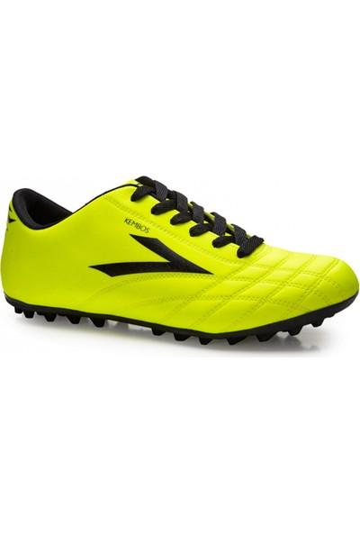 Lig Kembos Halı Saha Ayakkabısı Sarı - Siyah