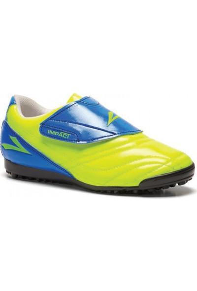 Lig İmpact Sarı-Sax Halı Saha Ayakkabısı
