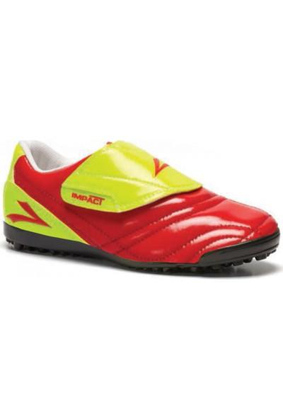 Lig İmpact Sarı-Kırmızı Halı Saha Ayakkabısı