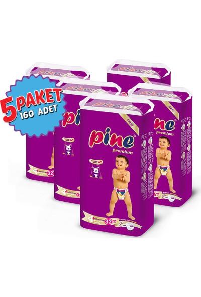 Pine Maxi Plus (9-20 kg) 160 Adet Bebek Bezi