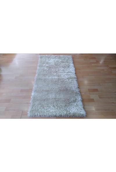 Çam Halı Shaggy Halı Krem 80X150